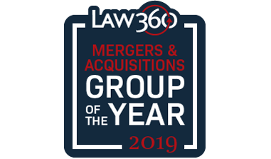 <em>Law360</em> Recognizes Paul, Weiss M&A Practice Among the Year's Best