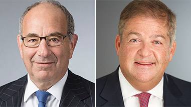 "Bob Schumer and Paul Basta Recognized as ""Dealmakers of the Year"" by <em>The American Lawyer</em>"