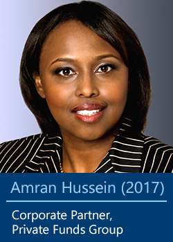 Amran Hussein (2017), Corporate Partner, M&A Group