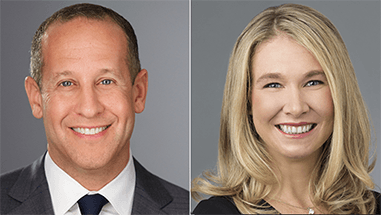 "Jeff Marell and Laura Turano Named ""Dealmakers of the Year"" by <em>The American Lawyer</em>"